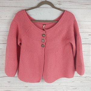 Free People Coral sweater M